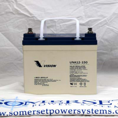 Vision 12 volt 150 amp hr Battery