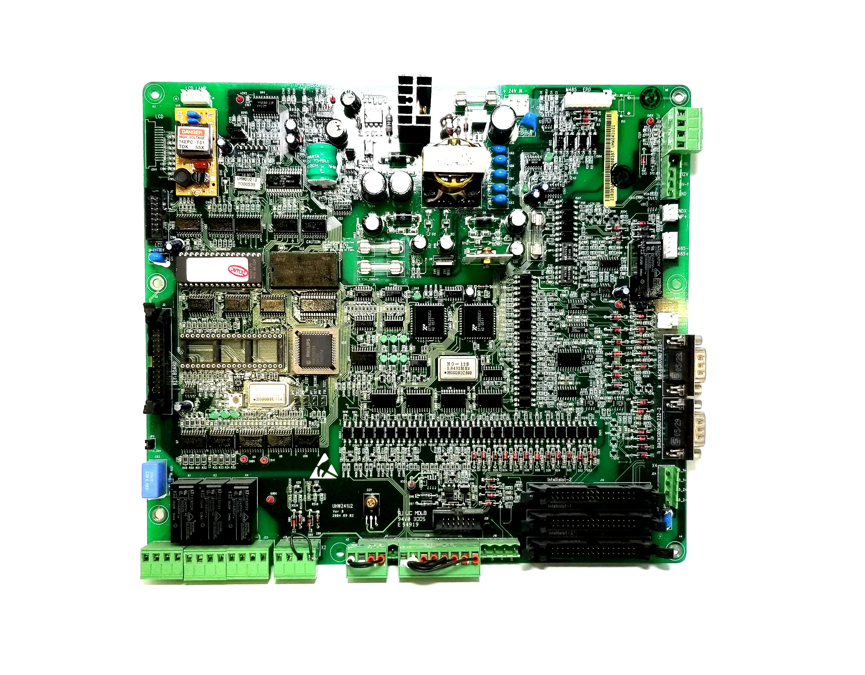 Liebert Uhw241a21 Pcb Circuit Board Tested Somerset Power Systems